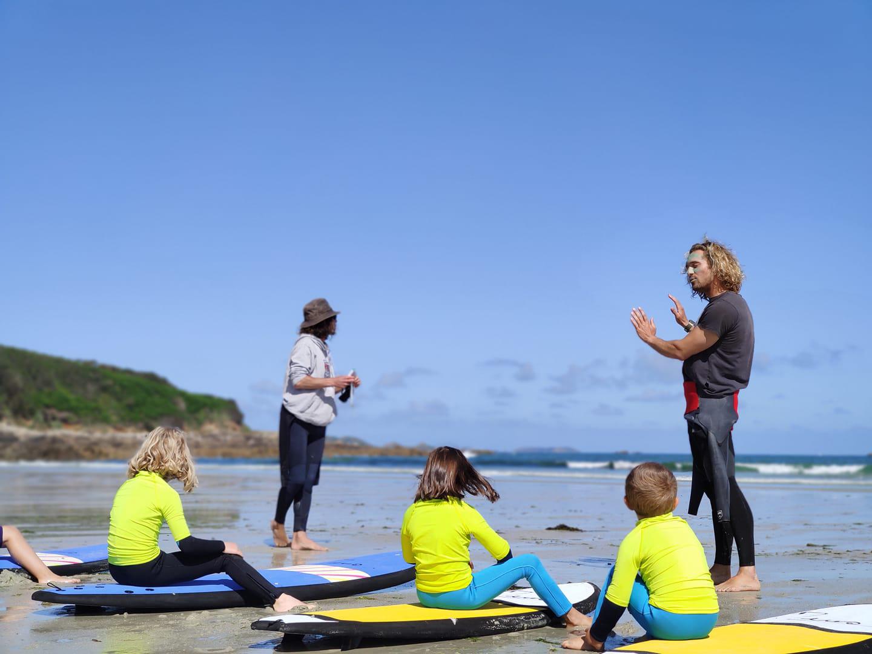 cours de surf trestel surf club